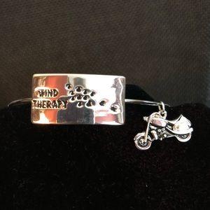 "Jewelry - ""Wind therapy "" bangle bracelet"
